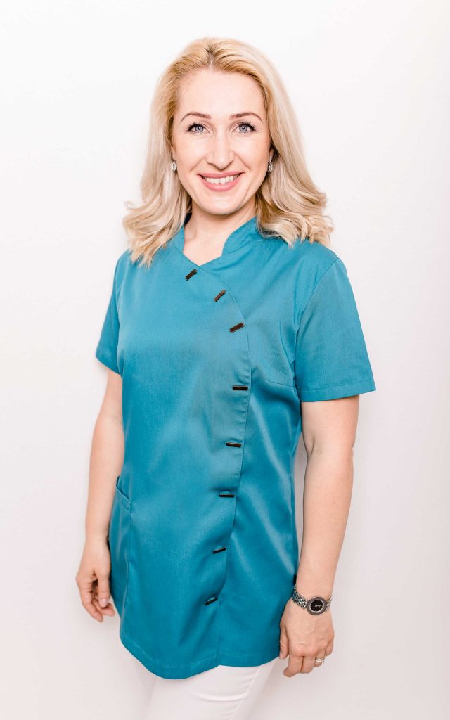 Zahnärztin Barbutova