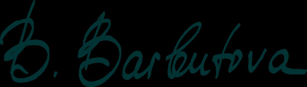 Zahnaerztin Barbutova Begrüssung